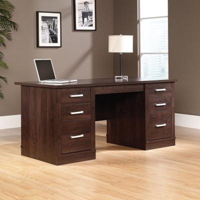 """65.5"""" Compact Executive Desk"""
