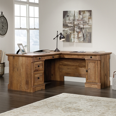 Palladia L-Shaped Desk with Right Return