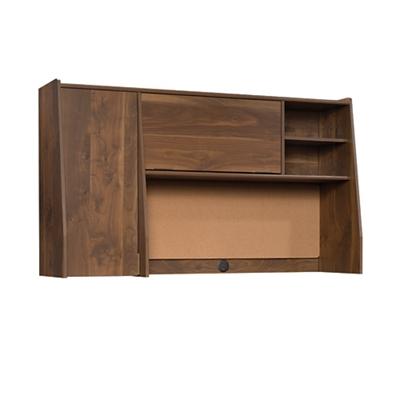 "Mid-Century Modern Storage Hutch with Cork Board - 59""W"
