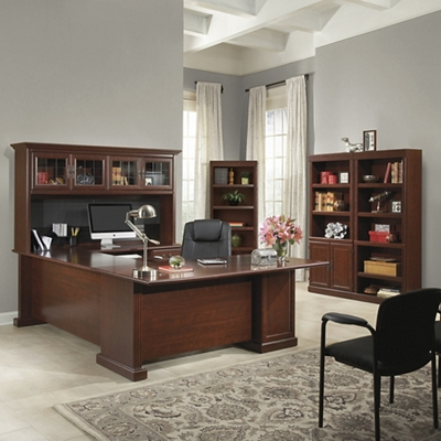 Executive U-Desk Office Suite