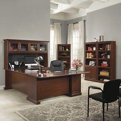 Executive U-Desk Office Suite