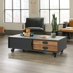 "Mobile Coffee Table - 46""W x 22""D"