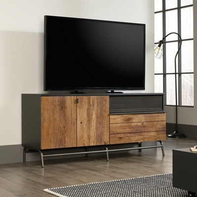 Shown as a TV entertainment stand