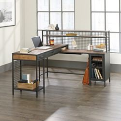 "Spacious L-Shaped Desk - 61""W x 58""D"