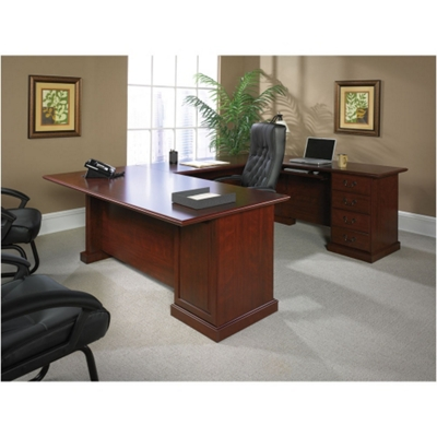 Traditional Executive U-Desk