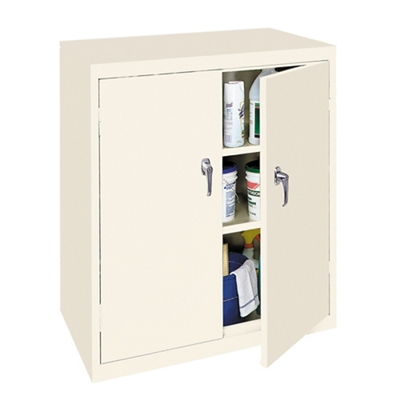 "Hetfield Three Shelf Counter High Cabinet - 36""W"