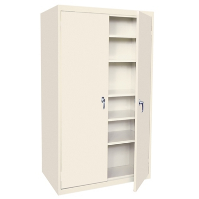 "Hetfield Six Shelf Storage Cabinet - 42""W x 18""D x 72""H"
