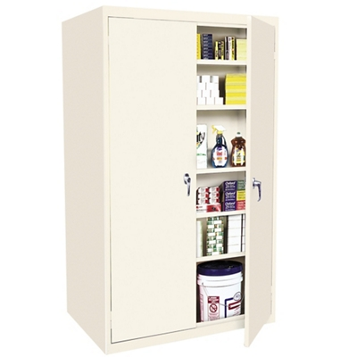 "Hetfield Six Shelf Storage Cabinet - 36""W x 24""D x 78""H"