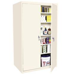 """Six Shelf Storage Cabinet - 33""""W x 18""""D x 78""""H"""