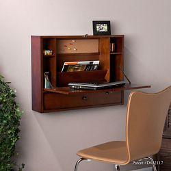 """Keating Wall Mount Laptop Desk - 26""""W"""