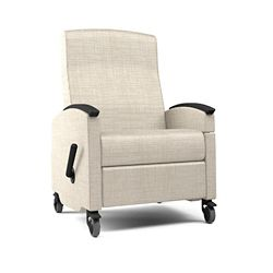 Narrow Recliner with Drop Transfer Arm