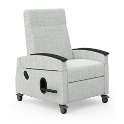 Recliner with Dual Transfer Arms