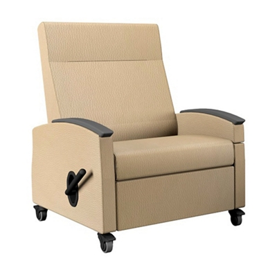 Bariatric Recliner with Drop Transfer Arm