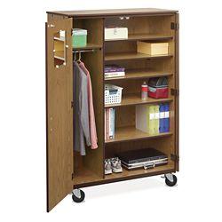 Mobile Teachers Wardrobe Cabinet