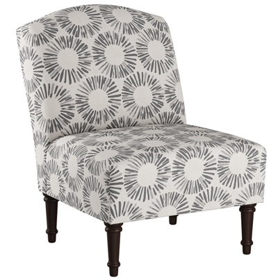 Traditional Fabric Upholstered Chair
