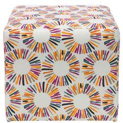 Cubed Fabric Ottoman
