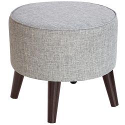 Hand-Upholstered Ottoman