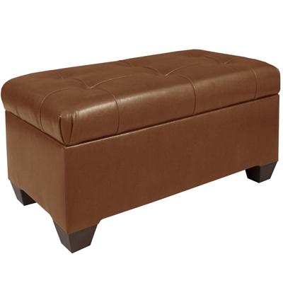 Polyurethane Tufted Storage Bench