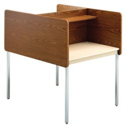 Fixed Height Two-Sided Carrel- Starter