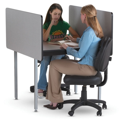 Fixed Height Conference Carrel- Starter