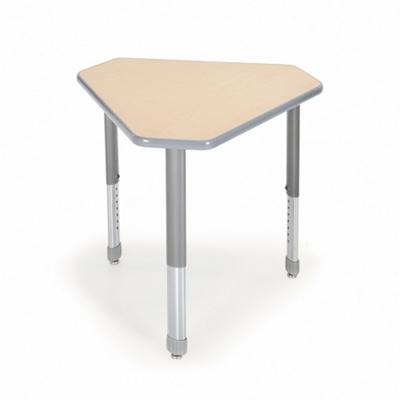 Diamond Adjustable Height Student Desk