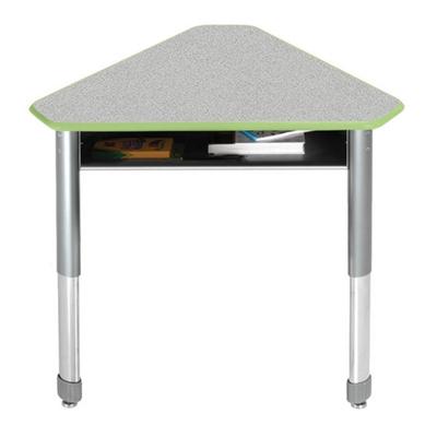 Diamond Adjustable Height Mini Student Desk with Book Box