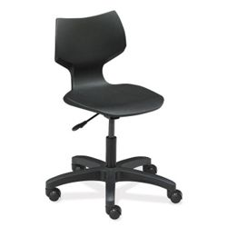 Plastic Task Chair with Casters