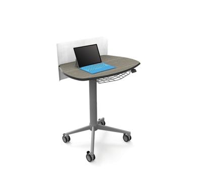 Height Adjustable Sit Stand Teacher Lectern