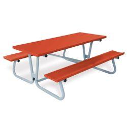 Aluminum Picnic Table - 6 ft