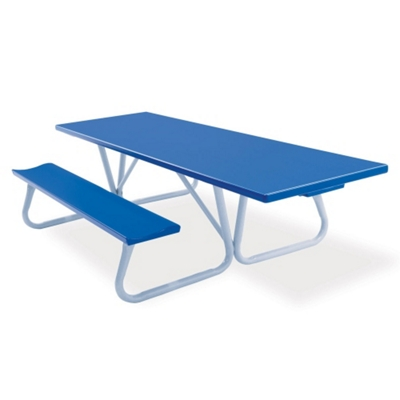 Aluminum Picnic Table With Handicap Access 8 Ft By Southern Nbf