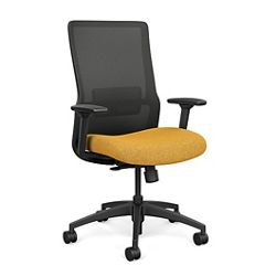 Novo High-Back Task Chair w/Black Frame