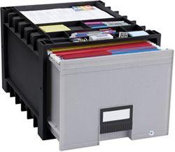 Convenient storage compartments on top