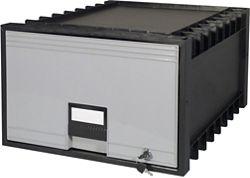 "Locking Legal-Sized Archive Storage Box - 18"""