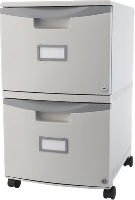 """Two Drawer Mobile Filing Cabinet - 15""""W"""