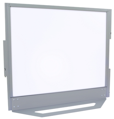 "61""W x 54""H Bolted-Base Ballistic Whiteboard Panel"
