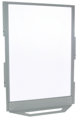 "55""W x 77.75""H Bolted-Base Ballistic Whiteboard Panel"