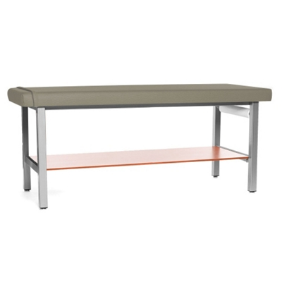 H Brace Treatment Table with Drip-Edge and Shelf