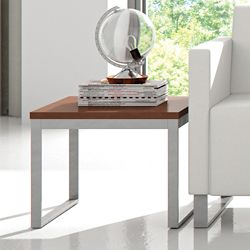 "Laminate End Table - 21""H"