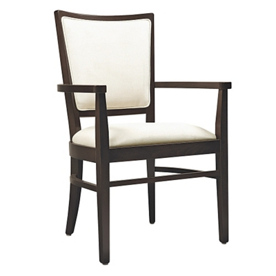 Dining Chair with Curved Back Legs