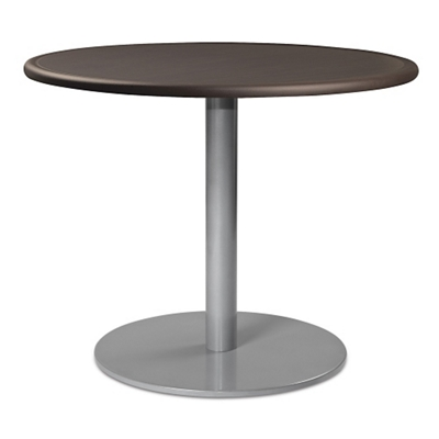 """Disc Base Dining Table with Bullnose Edging - 42""""DIA"""