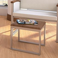 "Behavioral Health Square Thermoformed End Table - 18""W"