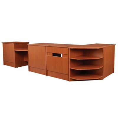 """Complete Circulation Station - 174""""W x 66""""D"""