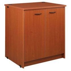 "Three Shelf Doored Library Cabinet - 40""H"