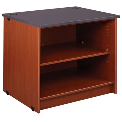 """Two Shelf Open Library Station - 30""""H"""