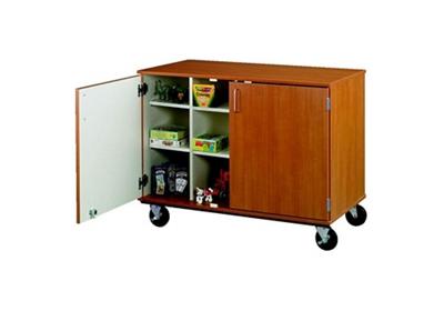 "Doored Twelve Compartment Mobile Storage Cabinet - 36""H"
