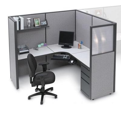 Complete Cube with Corner Desk