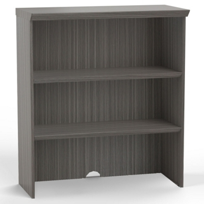 "Three Shelf Bookcase Hutch - 36""W"