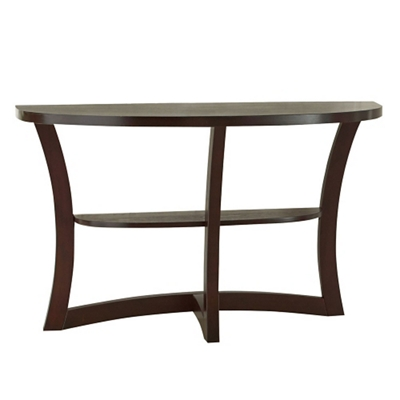 "Half Round Sofa Table - 48""W"