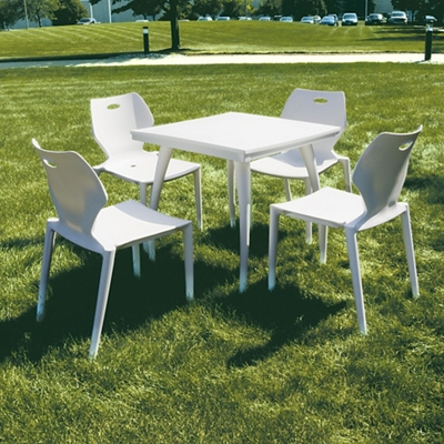 Ion Indoor/Outdoor Table & Four Chairs Set
