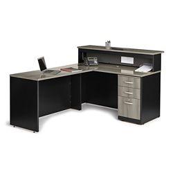 "Reception L-Desk - 60""W x 72""D"